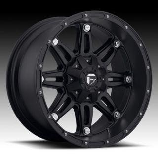 MHT Fuel Hostage 8x170 Et 44 Matte Black Wheels 4 New Rims