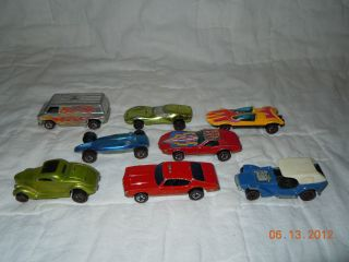 Vintage Hot Wheels Redline Lot w Fire Chief Olds 442 Classic 36 Ford