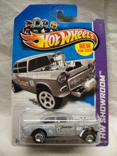 Hot Wheels 2013 CustomSuper Treasure Hunt 55 Chevy Bel Air Gasser