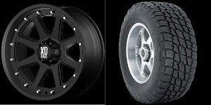 20 Rims Nitto Tires Black GMC Truck Sierra 6x5 5 6 Lug