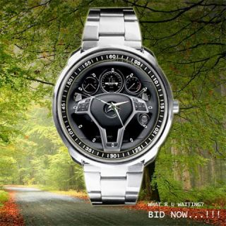 2012 Mercedes Benz CLS63 AMG Steering Wheels Sport Metal Watch