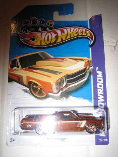 Hot Wheels 2013 Super Treasure Hunt 71 El Camino HW TH Showroom Non
