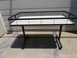 Retail Display Folding Table on Wheels 24 x 47