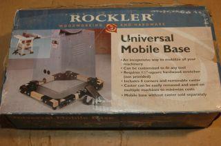 Universal Mobile Base 92051 Mobile Machine Base Wheels Casters