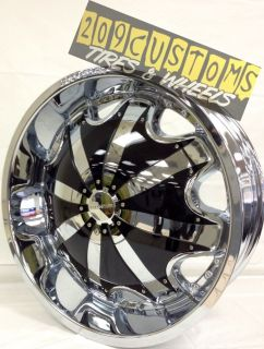 22 inch Rims Wheels Tires RW130 5x115 Chrysler 300 04 05 06 07 08 09