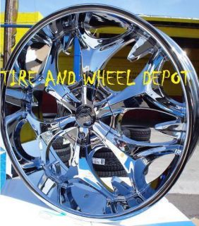 26 INCH B3 RIMS AND TIRES AVIATOR EXPLORER RANGEROVER CROWN VIC
