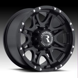 Raceline Raptor Rims Wheels 16x8 0 8x165 1 Matte Black