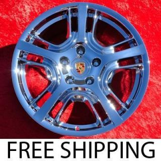 New 19 Porsche Panamera OEM Chrome Factory Wheels Rims 67387 EXCHANGE