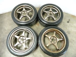 JDM Final Speed Forged Wheels 17x7 5x100 49 Subaru WRX STI GC GD Work