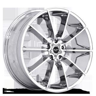 x10 Ruff Racing R943 Chrome 5x120 w 45 Et R943KP5H45C72 Rims