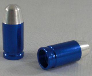 Silver Bullet Custom Valve Stem Caps for Motorcycle Car Rims
