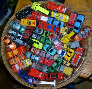 Hot Wheels and More Over 50 Hot Wheels Matchbox Diecast Cars Trucks