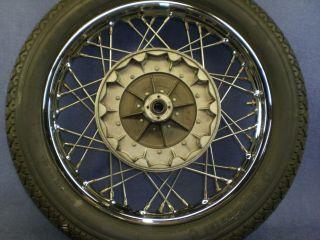 BMW R69S Rear Wheel Chrome Rim R50 2 R60 2