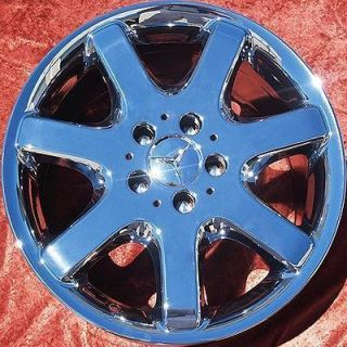 NEW 17 MERCEDES BENZ ML430 ML350 OEM CHROME WHEELS RIMS 65182 EXCHANGE