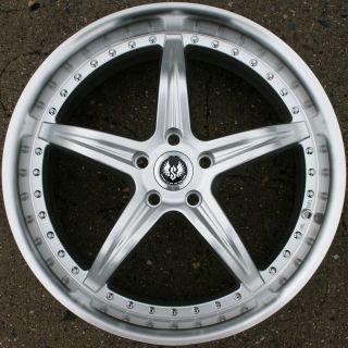 Stern de Elegance 20 H Silver Rims Wheels Sonata 06 Up 20 x 8 5 5H 35