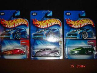 Hotwheels Diecast Toy Hot Rod Cars 19 28 44