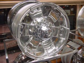 16x8 ion 148 Wheels Ford Chevy Dodge 8 Lug Chrome Rons Rims
