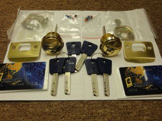 Top of The Line Garrison Mul T Lock Rim Mortise Cylinder