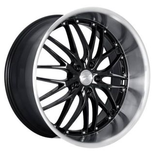 19 MRR GT1 Black Rims Wheels Mercedes C230 C280 C350