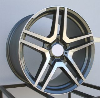 20 AMG Style Wheels Rims Fit Mercedes CL500 CL600 CL55 CL63 1999 2012