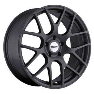 19 TSW Nurburgring 19x8 5x100 45 Matte Gunmetal Wheels Rim