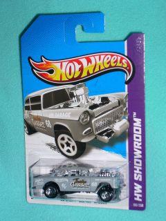 Hotwheels 55 Chevy Bel Air Gasser HW Showroom 2013 Shipping Varies