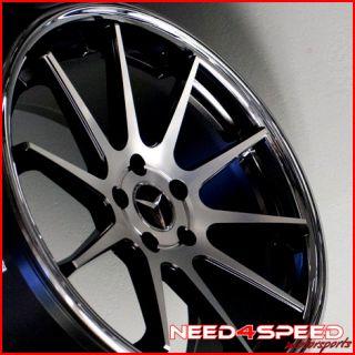 W220 S350 S430 S500 S600 S55 Euromag EM10 Concave Wheels Rims