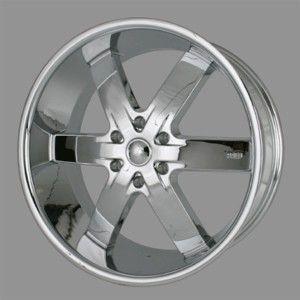 24 U2 55 s Rims Chrome Wheels Tires Tahoe Armada GMC Silverado QX56