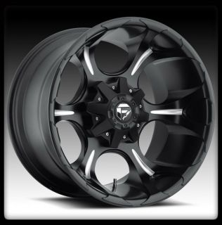 20 FUEL DUNE BLACK MILLED WHEELS RIMS TOYO 35X12 50X20 OPEN COUNTRY MT