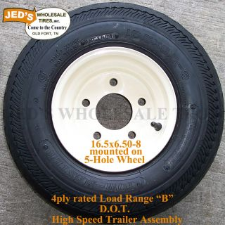 16 5x6 50 8 5 4 5 Snow Mobile Jet Ski Pop Up camper Trailer Tire Rim