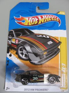 Hot Wheels Car Black Mazda RX 7 2010 HW Premiere Brand New Mint