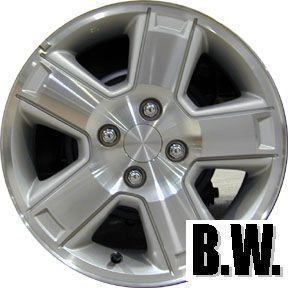 Aerio 15 Machined Silver Wheel Refinished Factory Rim 72681