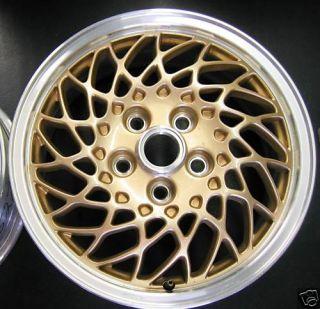 Pontiac Gran Prix Wheel Rim 1997 1998 98 Factory Gold Mesh Lacy Spoke