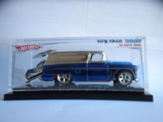 Hot Wheels Toy Fair 55 Chevy Panel Truck