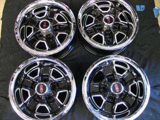 Cutlass Supreme Hurst 442 Set of 4 14 x 6 Rally Wheels Restored