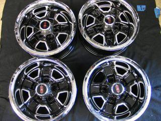 Cutlass Supreme Hurst 442 Set of 4 14 x 6 Rally Wheels Restored