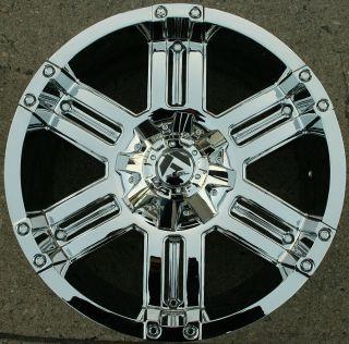 Fuel Gauge D503 20 Chrome Rims Wheels Infiniti QX56 04 Up 20 x 9 0 6H