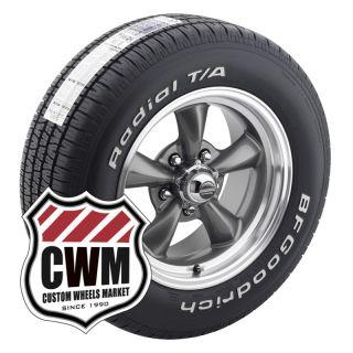 15x6 15x7 Gray Wheels Rims BFG Tires 205 60R15 225 60R15 for Ford
