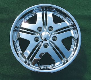 New Vogue Shoreline Chrome Wheel Rim Cadillac MHT Dub