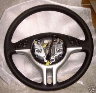 BMW E53 x5 1999 2003 Genuine Titanium Trim Steering Wheel New