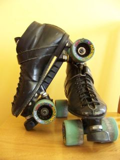 Riedell RS 1000 Speed Skates Mad Hog Wheels 62mm Roller Skates