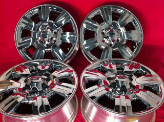 Expedition FX4 Lariat King Ranch Factory 18 Chrome Wheels Rims
