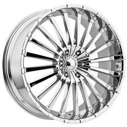 20 inch Panther 911 Chrome Wheels Rims 5x115 35 Cadillac cts DTS STS