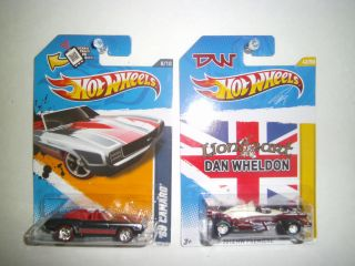2012 Hot Wheels 69 Camaro Super T Hunt DW 1 Dan Wheldon Super T Hunt