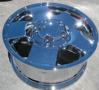 Toyota Tundra Sequoia LX470 Landcruiser Chrome Wheels Rims