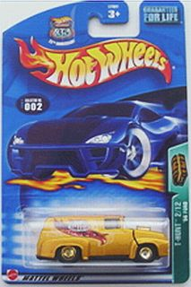 2003 Treasure Hunt 2 56 Ford Panel Truck Hot Wheels Hunts SEALED Mint