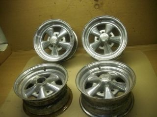 CRAGER 5 SPOKE 14 X 7 RIMS WHEELS S10 CAMARO FIREBIRD olds MONTE CARLO