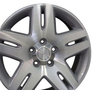 17 Rims Fit Chevy Impala Wheel Silver 17x6 5