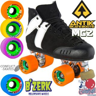 MG2 Roller Derby Speed Skates Quads BZerk Wheels 5 6 7 UK