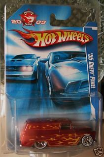 Hot Wheels 2009 55 Chevy Panel Collector Edition Promo